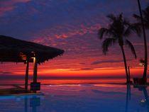 Asian Sun Set von Michael Sheridan