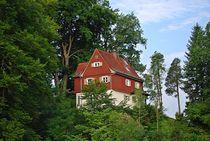 Münchner Jakobsweg: Haus am Berg... von loewenherz-artwork