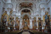 Münchner Jakobsweg: Stiftskirche St. Maria in Dießen... von loewenherz-artwork