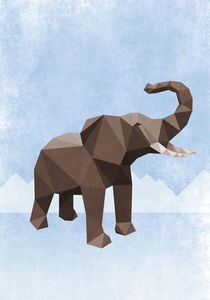 Elefant 3D by cynoba