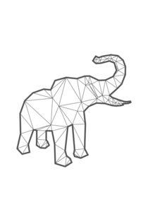 Elefant 3D Kontur von cynoba