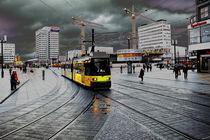 Straßenbahn auf dem Alex von Christian Behring