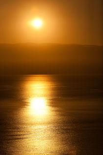 Sonnenaufgang über Kalabrien von Krystian Krawczyk