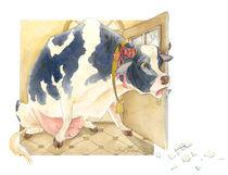 Kuh von Anna Eliza Lukasik-Fisch