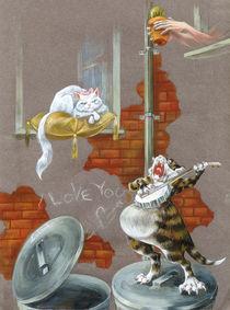 Katzenliebe by Anna Eliza Lukasik-Fisch