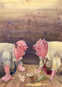 Kartenspiel by Anna Eliza Lukasik-Fisch