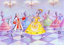 Cinderella at the ball von greg becker