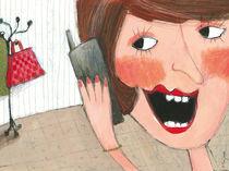 Mama telefoniert von Evi Gasser