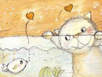 Fisch und katze