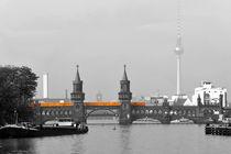U-Bahn auf Oberbaumbrücke von Christian Behring