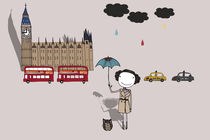 It does not always rain in London? von June Keser