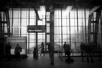 Berlin alexanderplatz station by amonkeywithcamera