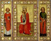 Madonna and Child with Saints Cyricus and Pancratius von Aachen Master