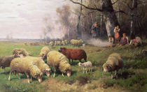 The Shepherd's Family  von Adolf Ernst Meissner