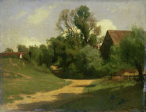 Landscape near Oberaudorf  by Adolf Stabli