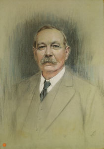 Portrait of Sir Arthur Conan Doyle  von William Henry Gates