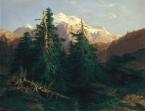 Glacier by Alexandre Calame
