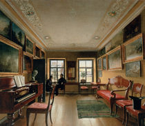 Interior of a Manor House by Alexei Vasilievich Tyranov