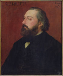 Leon Gambetta  by Alphonse Legros