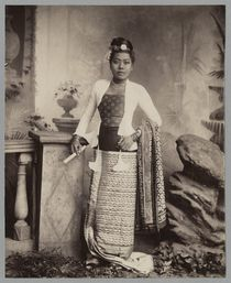 Burmese lady  by Watts and Skeen