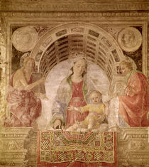 Virgin and Child with St. John the Baptist and St. John the Evangelist by Vincenzo Foppa