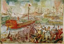 The Battle of Lepanto von Antonio Vassilacchi