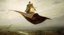 The Magic Carpet by Apollinari Mikhailovich Vasnetsov