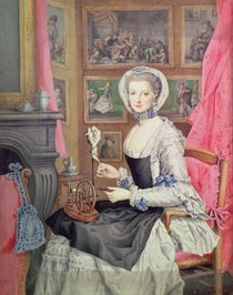 Self Portrait von Archduchess of Austria Maria Christine