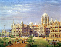 The British Raj Great Indian Peninsular Terminus  by Axel Haig