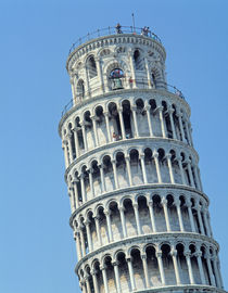 View of the Leaning Tower  von Bonannus of Pisa