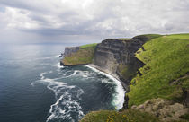 View of the Cliffs of Moher, Ireland. by Tom Hanslien