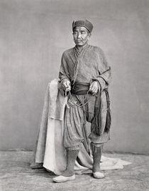 Tibetan Lama by Charles Shepherd
