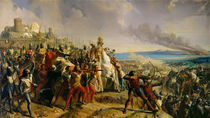 The Battle of Montgisard by Charles-Philippe Lariviere