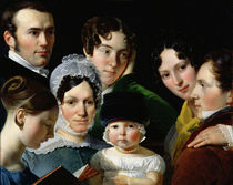 The Dubufe Family in 1820  by Claude-Marie Dubufe