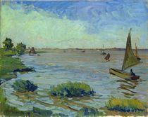 Windy Day on the Elbe von Richard Dreher