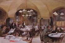 Cafe Griensteidl by Reinhold Volkel