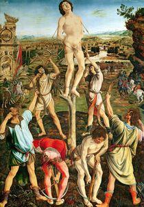 Martyrdom of St. Sebastian von Pollaiolo, Antonio (1432/3-1498) and Piero (1443-96) del
