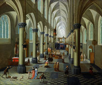 Interior of a Church  by Pieter the Elder Neeffs