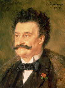 Johann Strauss the Younger von Eduard Grutzner