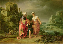 The Expulsion of Hagar by Pieter Lastman