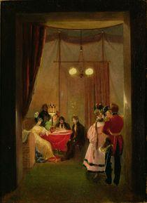 The Salon of Hortense de Beauharnais  by Pierre Felix Cottrau