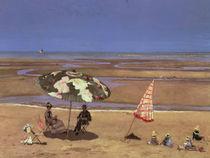 The Beach  by Etienne Moreau-Nelaton