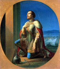 Alexander Nevsky  by Petr Mikhailovich Shamshin