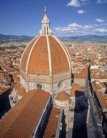 Exterior view of the Dome by Filippo Brunelleschi