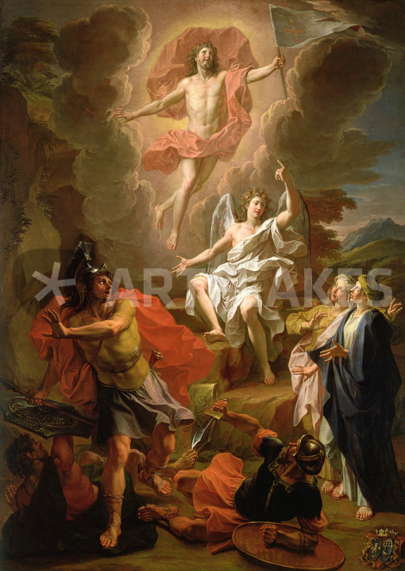 the depiction of resurrection and christ in works of art We carry several prints of jesus christ, his ministry, youth & resurrection we hope our art of the savior will inspire and this depiction shows mary taking.