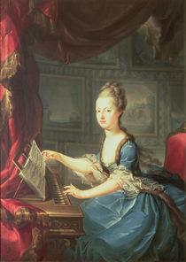 Archduchess Marie Antoinette Habsburg-Lothringen  by Franz Xaver Wagenschon