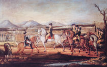 Washington Reviewing the Western Army at Fort Cumberland by Frederick Kemmelmeyer