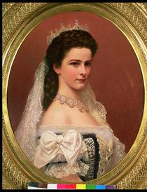 Empress Elizabeth of Bavaria  by Georg Raab