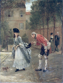 The Old Soldier by George Adolphus Storey