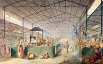 Interior of Les Halles by Max Berthelin